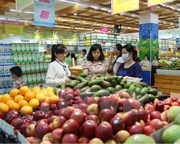 Indice de precios aumenta por sexto mes consecutivo en Hanoi hinh anh 1