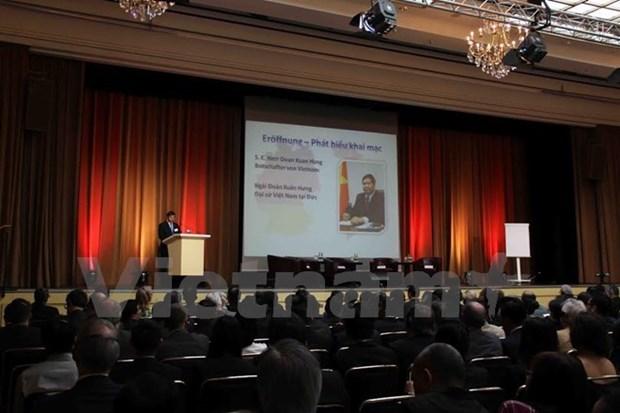 Destacan perspectivas economicas entre Vietnam y Alemania hinh anh 1