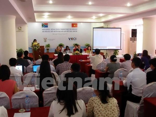 Impulsan Vietnam y Sudafrica cooperacion de comercio e inversion hinh anh 1