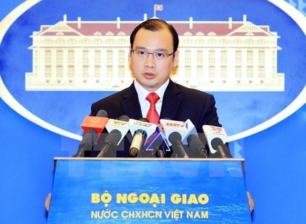 Vocero vietnamita: China debe cesar acciones ilegales en Mar del Este hinh anh 1
