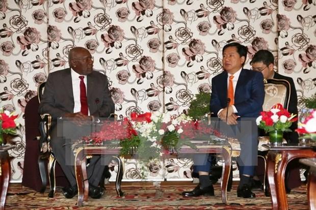 Dispuesta Ciudad Ho Chi Minh cooperar con Cuba en desarrollo urbano hinh anh 1