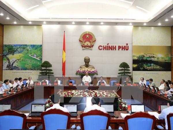 Gobierno vietnamita analiza promulgacion de documentos normativos hinh anh 1