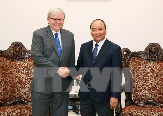 Vietnam fomenta relaciones de cooperacion multifacetica con Australia hinh anh 1