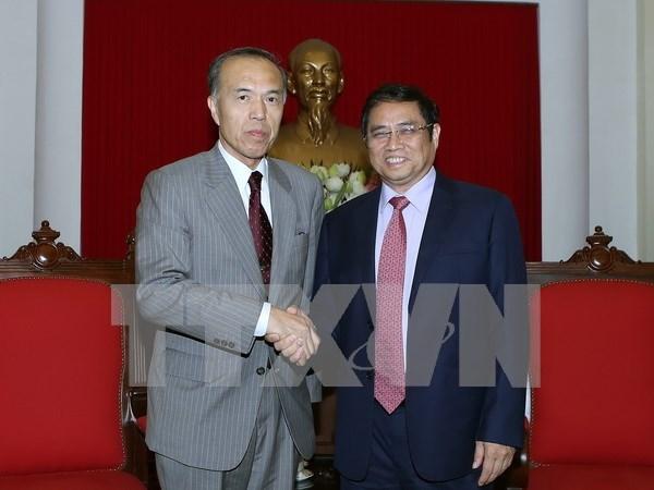 Japon: contraparte importante de Vietnam en capacitacion del personal hinh anh 1