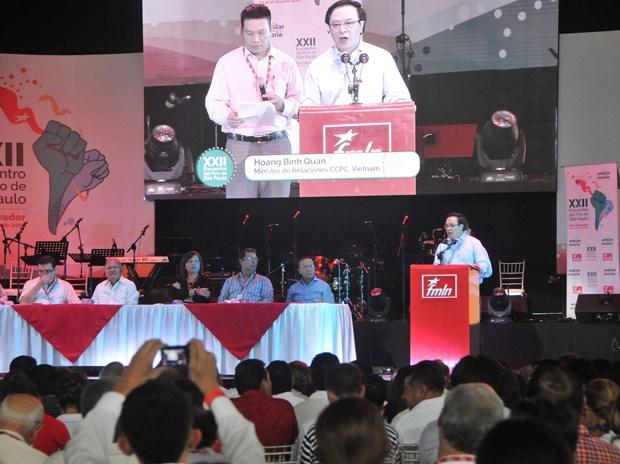 Participantes en Foro de Sao Paulo estudian experiencias de Vietnam hinh anh 2