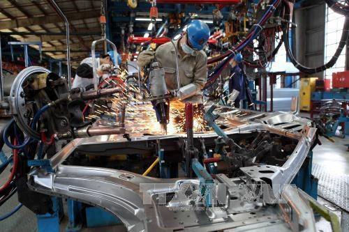 Hanoi obtiene alza de ocho por ciento en Indice de Produccion Industrial hinh anh 1