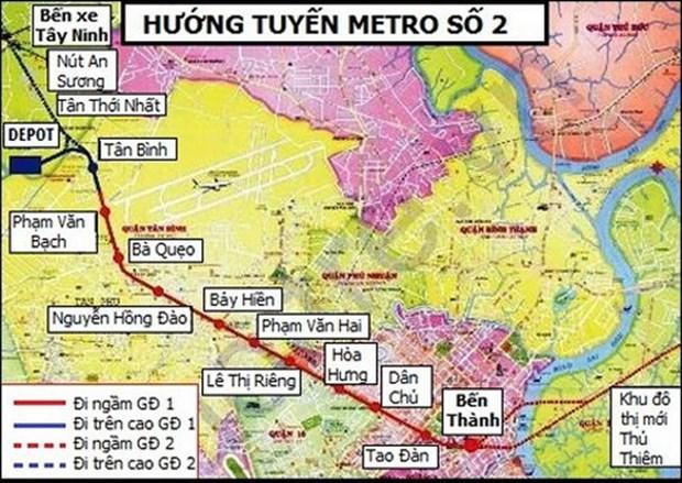 Aceleran proyecto de metro en Ciudad Ho Chi Minh hinh anh 1