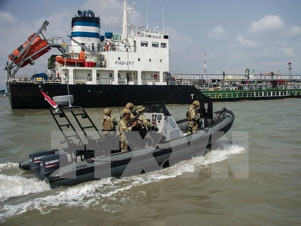 Filipinas confirma el secuestro de siete marineros indonesios por Abu Sayyaf hinh anh 1