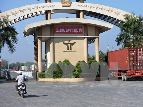 Abren nuevas puertas fronterizas secundarias entre Vietnam y Camboya hinh anh 1