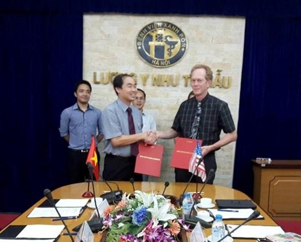 Cooperacion medica entre hospitales de Vietnam y Estados Unidos hinh anh 1