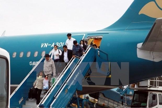 Vietnam Airlines opera vuelos en nueva terminal en Myanmar hinh anh 1