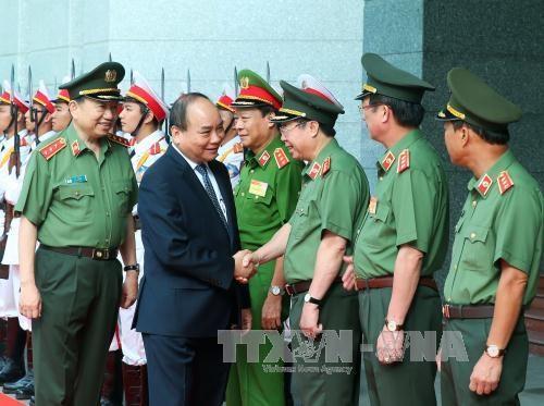 Premier orienta labores de seguridad publica para el resto de ano hinh anh 1