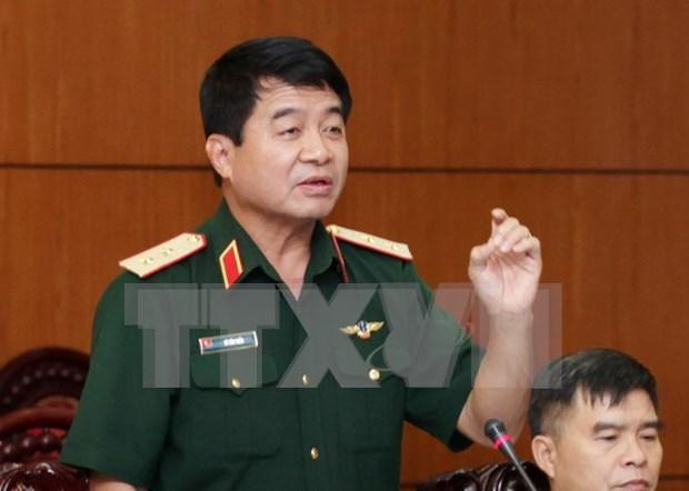 Visita Vietnam delegacion de oficiales de Fuerzas de Autodefensa de Japon hinh anh 1