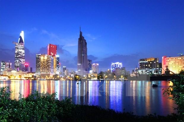 Economia de Ciudad Ho Chi Minh crece 7,47 por ciento en primera mitad del ano hinh anh 1