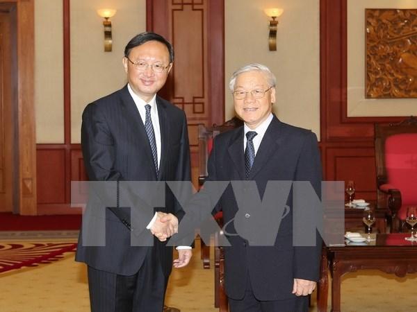 Agilizan cooperacion multifacetica Vietnam- China hinh anh 1