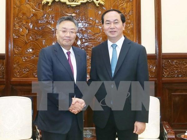 Presidente vietnamita exhorta mas inversiones de empresas japonesas hinh anh 1