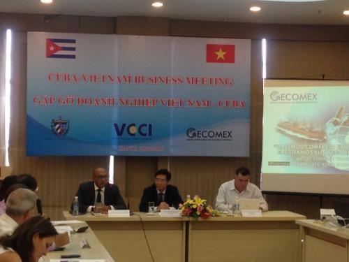 Estudian Cuba y Vietnam oportunidades para impulsar intercambio mercantil hinh anh 1