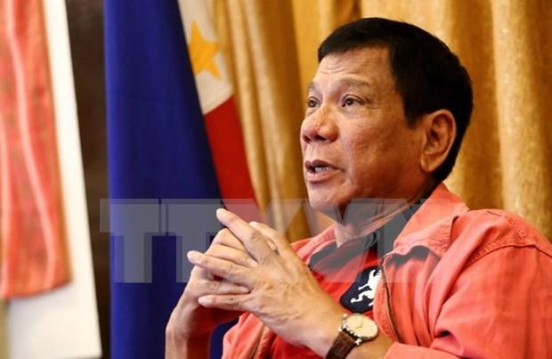 Nuevo presidente de Filipinas ante grandes desafios hinh anh 1