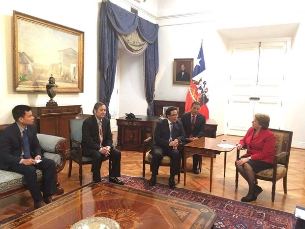 Desea Chile profundizar lazos multifaceticos con Vietnam hinh anh 1
