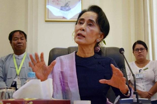 Tailandia y Myanmar acuerdan duplicar el comercio bilateral hinh anh 1