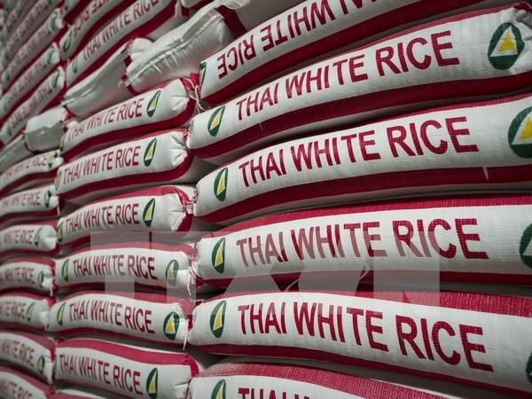Continuan en Tailandia subastas de gran cantidad de arroz hinh anh 1