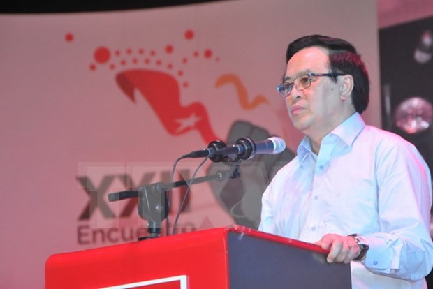 Cancilleria de Argentina destaca visita de delegacion partidista vietnamita hinh anh 1
