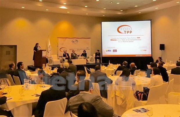 Vietnam asiste al foro sobre oportunidades y retos de Mexico en TPP hinh anh 1