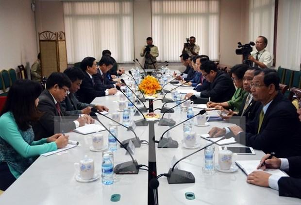 Vietnam y Camboya incrementan cooperacion legislativa hinh anh 1