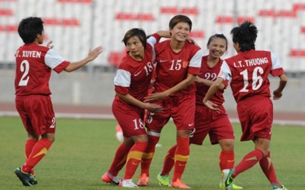 Seleccion femenina de futbol de Vietnam ocupa puesto 34 en ranking mundial hinh anh 1