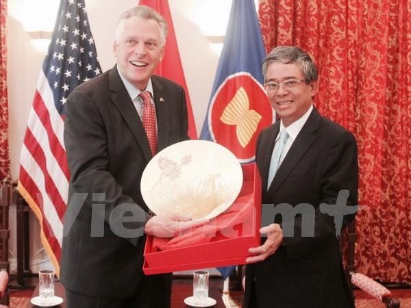 Estado de Virginia aspira ser puente que conecta Estados Unidos con Vietnam hinh anh 1