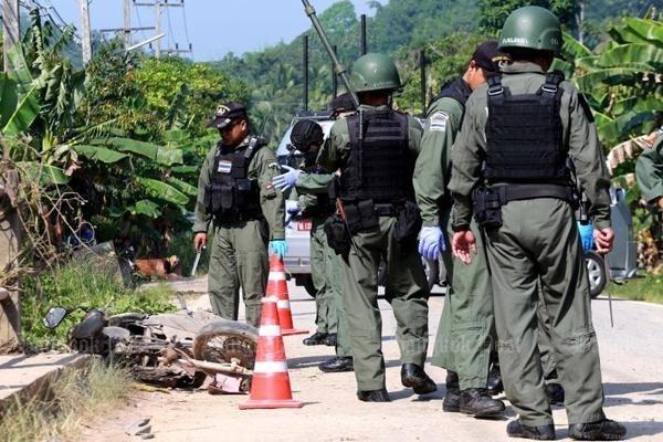 Ataques terroristas en Sur de Tailandia dejan dos muertos hinh anh 1