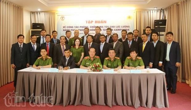 Vietnam respalda a Camboya en lucha contra narcotrafico hinh anh 1