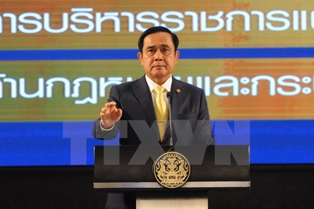Primer ministro de Tailandia rechaza amnistia politica hinh anh 1