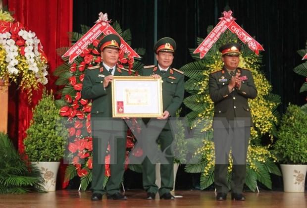 Celebra Academia de Infanteria de Vietnam su 70 aniversario de fundacion hinh anh 1