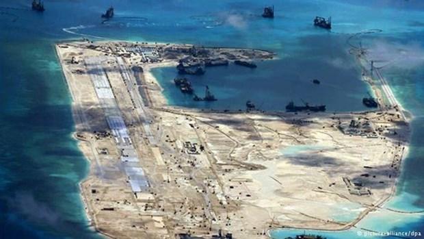Vietnam rechaza plan chino de realizar ejercicio en el Mar del Este hinh anh 1