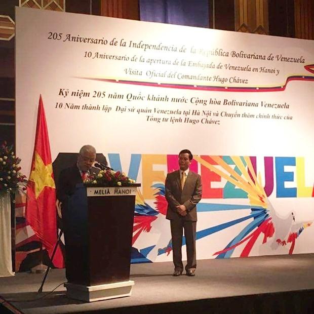 Celebran en Vietnam aniversario de la independencia de Venezuela hinh anh 1