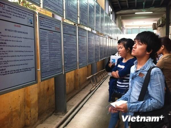 Hanoi determinado a generar 100 mil empleos cada ano hinh anh 1
