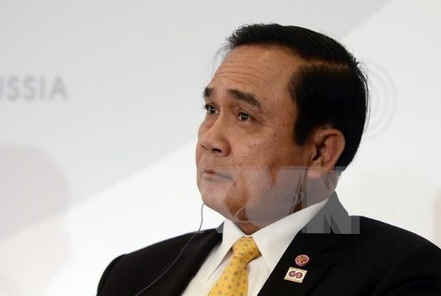 Primer ministro tailandes se reune con su homologo laosiano hinh anh 1