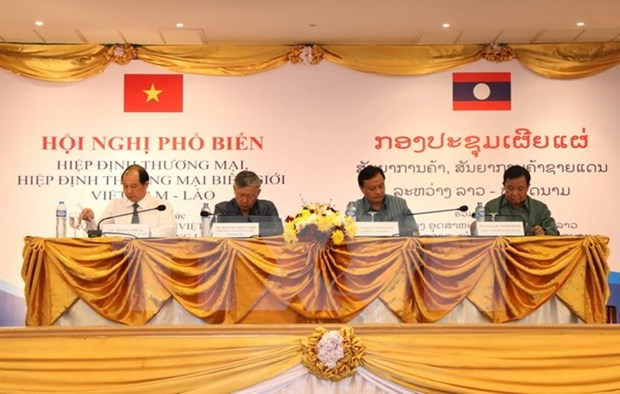Acuerdos facilitan comercio entre Vietnam y Laos hinh anh 1