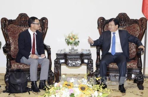 Vietnam facilita la inversion de grupo tailandes, afirma vicepremier hinh anh 1