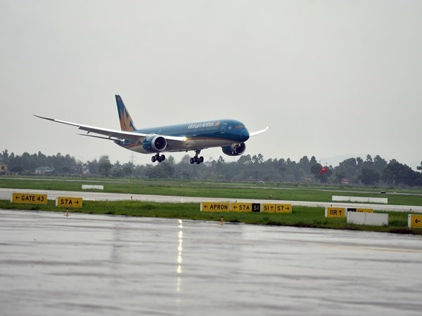 Vietnam Airlines ajusta horarios de vuelos a Taiwan por tifon Nepartak hinh anh 1