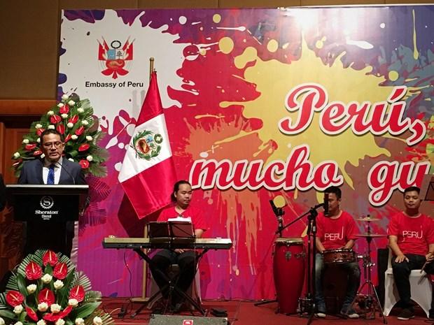 En Hanoi festival gastronomico de Peru hinh anh 1