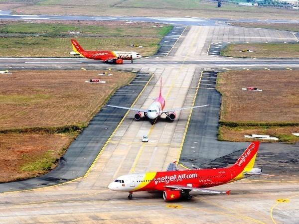 Vietjet Air cancela vuelos a Taiwan por supertifon Nepartak hinh anh 1