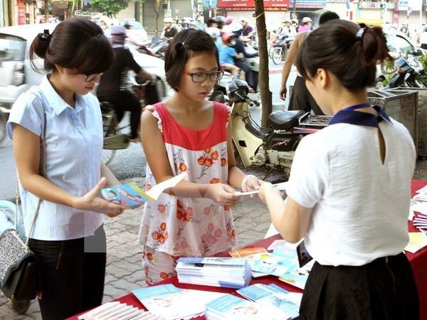 Mitin en Vietnam enfoca atencion a ninas y adolescentes femeninas hinh anh 1
