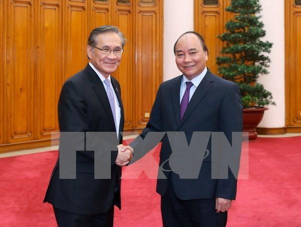 Primer ministro de Vietnam recibe a canciller tailandes hinh anh 1