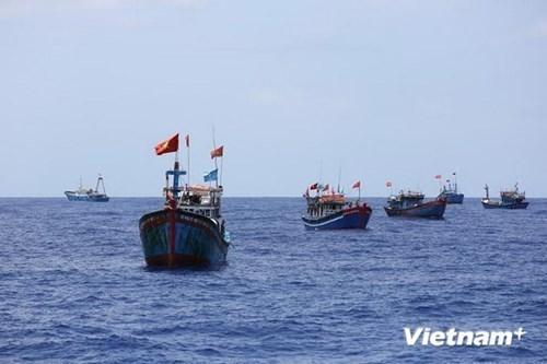 Abren exposicion de fotos sobre el Mar del Este en Sudcorea hinh anh 1