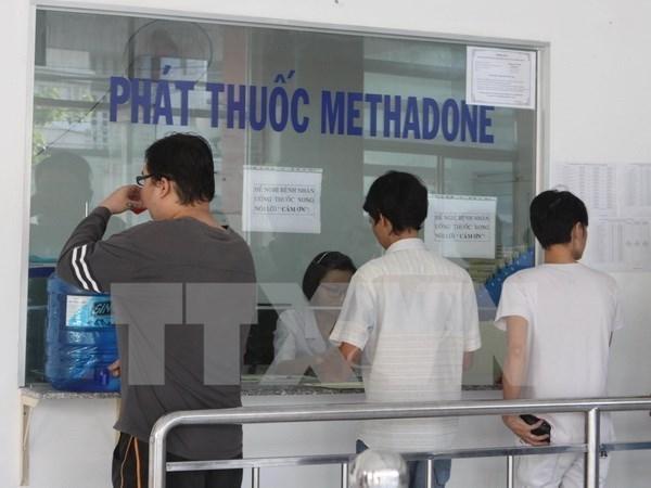 Ciudad Ho Chi Minh se empena en ampliar el tratamiento con metadona hinh anh 1