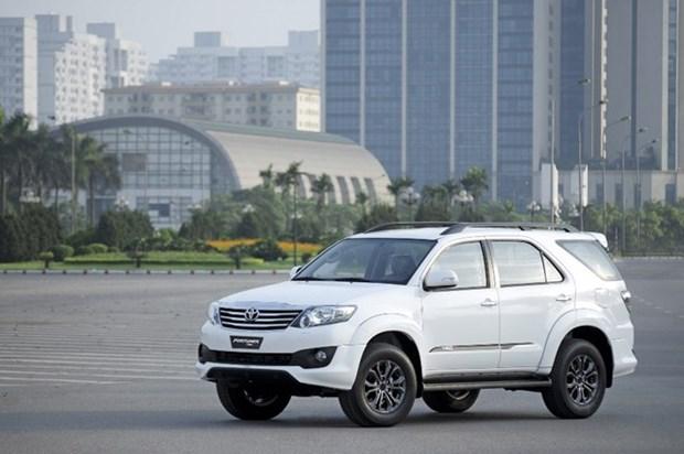 Toyota Vietnam registra aumento de venta de coches hinh anh 1