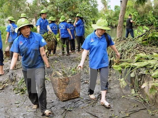 Comienza en Ciudad Ho Chi Minh la campana voluntaria de jovenes hinh anh 1