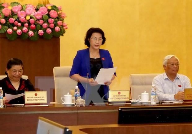 Comite Permanente de Asamblea Nacional de Vietnam inaugura nueva reunion de trabajo hinh anh 1